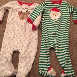 Carter's 9mo Christmas Sleeper Bundle (girls)
